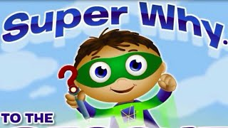 Super Why To The Rescue! Fun Game for Children HD Baby Video