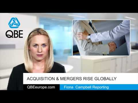 Acquisition & mergers rise globally