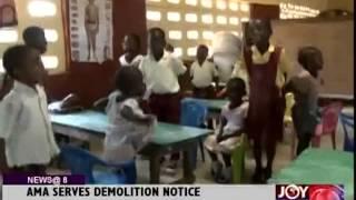 3 Osu School to be pulled down - Joy News @ 8 (19-9-14)