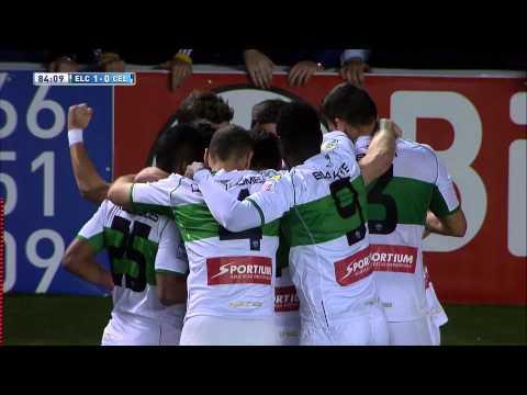 Gol de Carles Gil (1-0) en el Elche CF - Celta de Vigo - HD