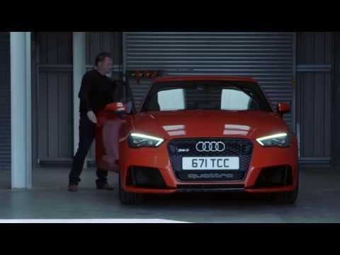 Promoted: Audi RS3 at Anglesey