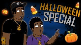 Kid Finds Condom Inside Halloween Bag - Songified (animated)
