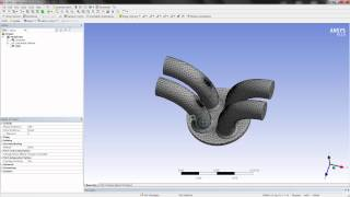 ANSYS Forte Meshing Demo