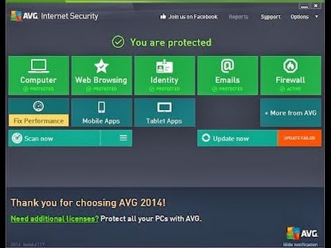 How to download AVG internet security 2014 for free[NO SURVEY]