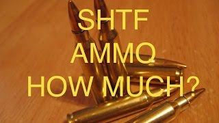 SHTF Ammo Supply: 100,000 Rounds?