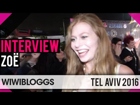 Zoë Austria at Israel Calling, Tel-Aviv Eurovision Party - Interview | wiwibloggs