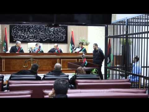 Gaddafi's son Saadi appears in court