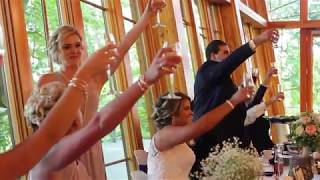 Epic best man and maid of honor rap battle