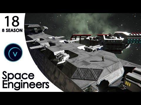"""Space Engineers (S8) #18 """"Мы - ЧУДОВИЩЕ"""" (Кинематографический)"""