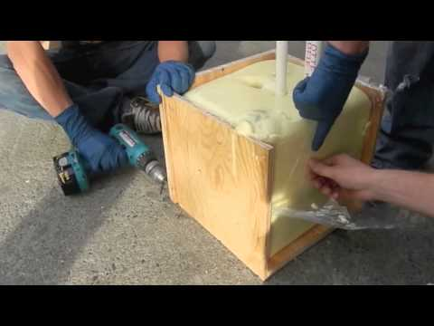 Wave Energy Converter Project 2013 - Marine Foam Test