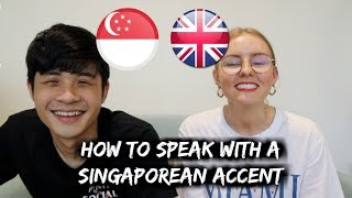 Foreigner Learns How to Speak with SINGAPOREAN Accent