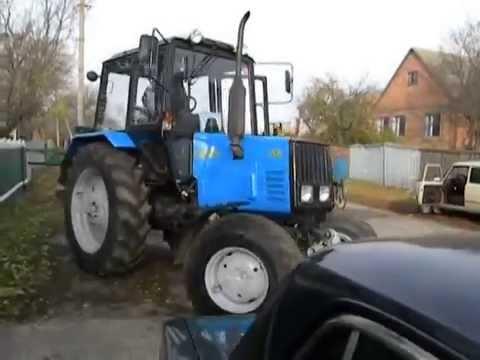 Первая вспашка МТЗ 892 [The first plowing on MTZ 892]