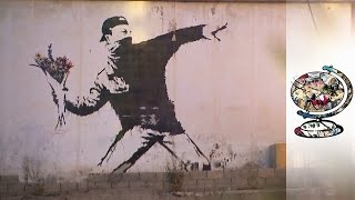 Banksy's Murals Left Trail Of Conflict In Palestine