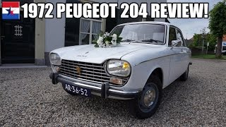 1972 Peugeot 204 // Review