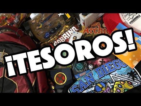 ¡Mis Tesoros de COMIC-CON 2018! / NAVY