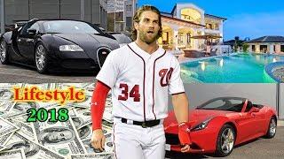 Luxury Lifestyle Of Bryce Harper 2018