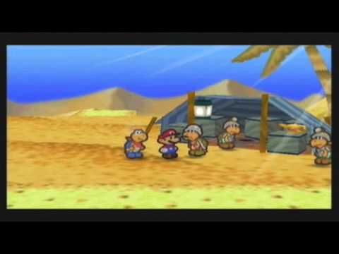 Let's Play Paper Mario, Part 18 - Be Aware of Desert Mushrooms