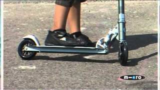 Kick Scooter - The Bullet & Kick Sprite Scooter