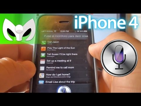 INSTALAR Siri Español iPhone 4. 3GS. iPod 4Gen iOS 5.1.1 (FACIL Y 100% FUNCIONANDO) NO SERVER