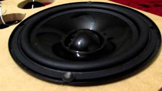 """6.5"""" Peerless Woofer Bass I Love You Excursion!"""