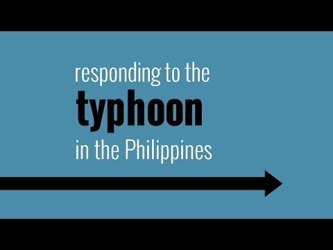 Responding to Typhoon Haiyan in the Philippines: 6 months on