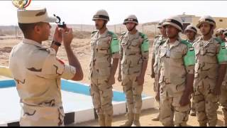 """""""يوم فى حياة مقاتل"""".. فيلم لوزارة الدفاع المصرية"""