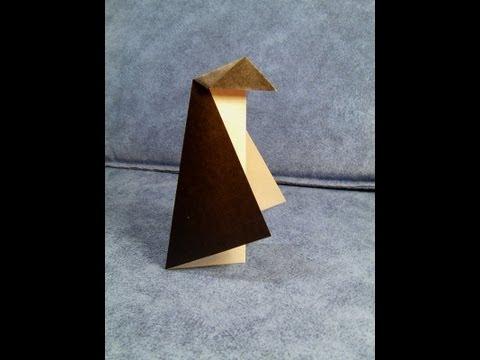 Pingüí de papiroflèxia