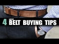 HOW TO Pick The Best Belt For Your Outfit | 4 EPIC Belt Buying Tips for Men | Mayank Bhattacharya