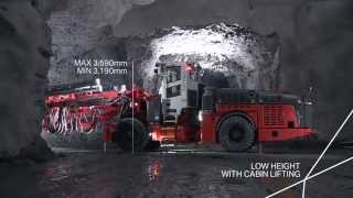 Sandvik DT922i - the ultimate all round tunneling jumbo