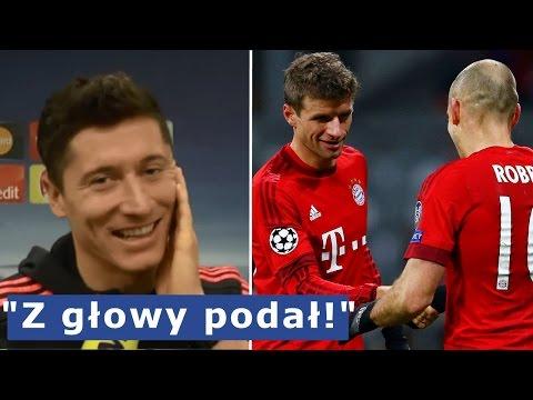 Muller Zabawnie Pogratulował Robbenowi Asysty. Lewandowski Komentuje