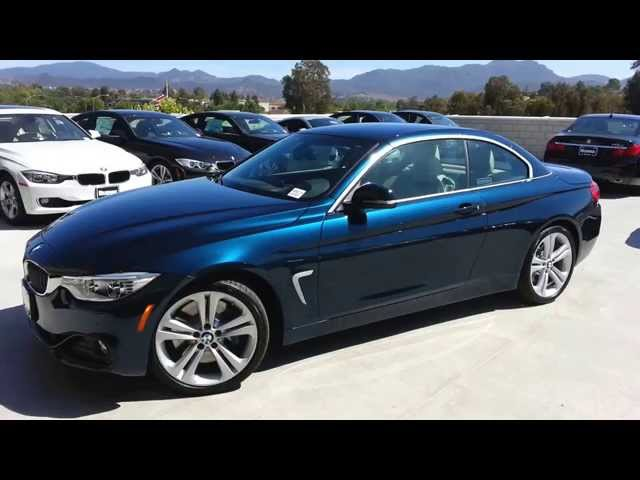 NEW BMW 435I convertible Midnight Blue Sport line Car ...