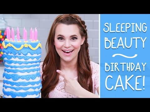 SLEEPING BEAUTY BIRTHDAY CAKE - NERDY NUMMIES
