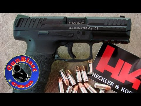 Shooting the HK VP9 Striker-Fired Semi-Auto 9mm Pistol - Gunblast.com