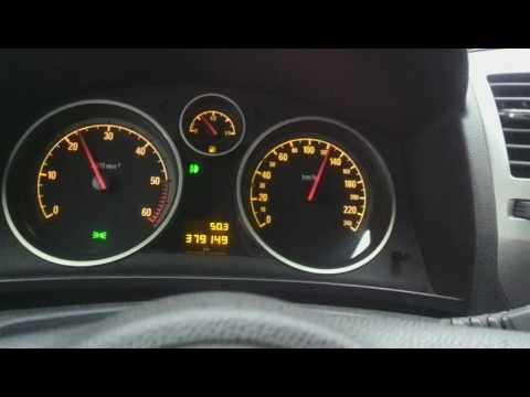 Opel Zafira B 1.9cdti 2007 - расход топлива (Опель Зафира Б)