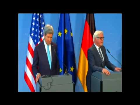 Secretary Kerry Delivers Remarks With German Foreign Minister Steinmeier