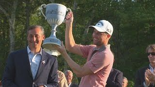 Chris Kirk holds off the field for win at Deutsche Bank