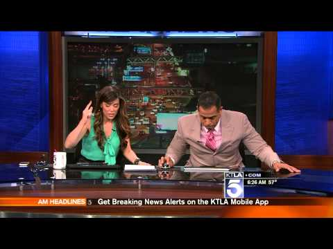Ktla St Patricks Day Earthquake 3 17 2014 video