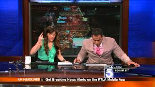KTLA St Patricks Day Earthquake 3/17/2014