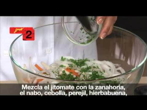 Platillo Sabio Profeco: Pescado al horno con guarnición salseada [Revista del Consumidor TV 21.1]
