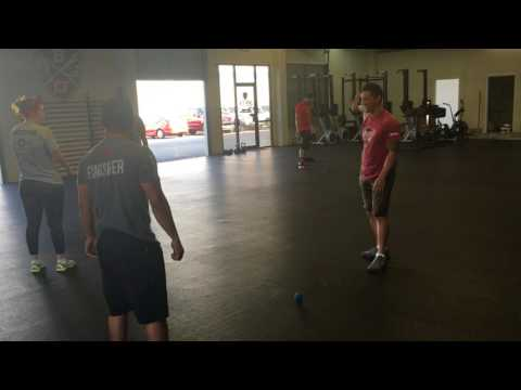 Snatch the ball   Fun Warm Up Game