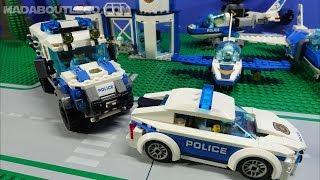ALL LEGO City Sky Police Vehicles