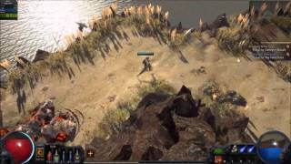 Path of Exile - Act 1 Speed Run - Ranger Merveil Kill