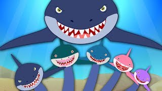 Shark Finger Family | Nursery Rhymes For Babies by Kids Tv