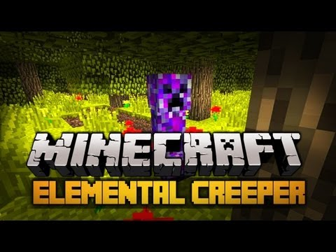 Minecraft Mody 1.2.5 - 15 Nowych Odjazdowych Creeperów ! - Elemental Creepers