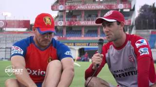Finch and Maxwell recall their encounters