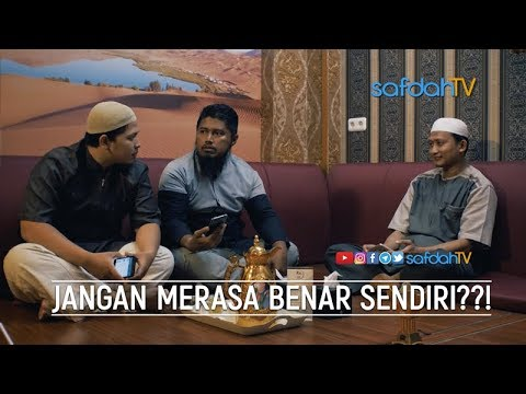 Bincang Santai: Jangan Merasa Benar Sendiri?!! - Ustadz Badru Salam, Lc & Talent SafdahTV
