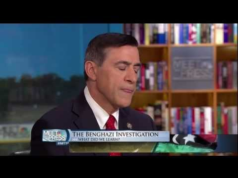 Issa Breaks Down Benghazi on Meet the Press