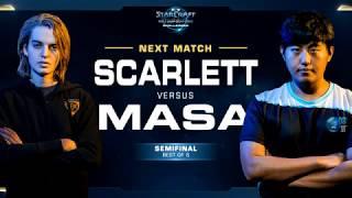 Scarlett vs MaSa ZvT - WCS Challenger 2018 Season 1 – North America