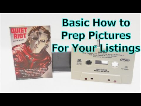 Basic How To Picture Prep For Your Online Listings