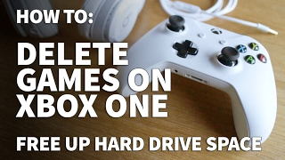 How to Delete Games and Apps on Xbox One – Free Up Space and Storage on Xbox One S